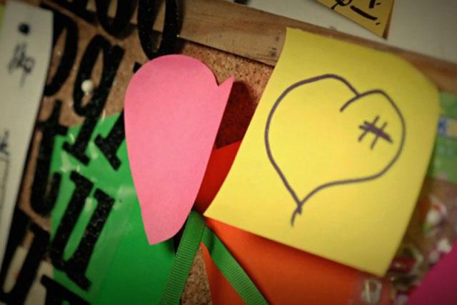 Samsung: 'love note' activity