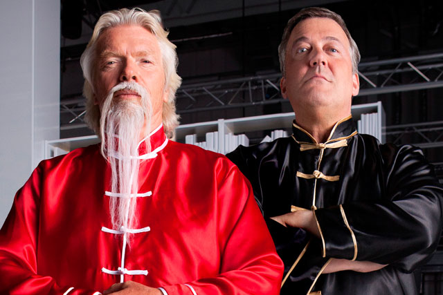 Virgin Media: Richard Branson and Stephen Fry star in latest TV ad campaign