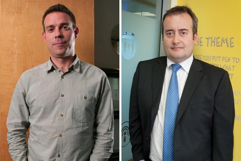 Havas Media Group: Frampton (l) will lead Havas Media UK, while Avery (r) will head Arena