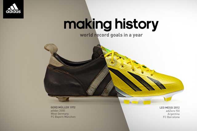 Adidas: 'making history' campaign