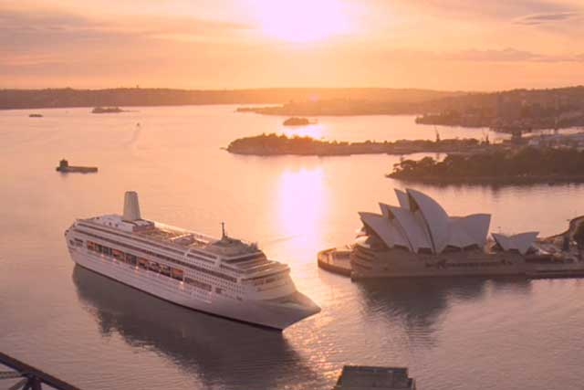 Arnold KLP appointed by P&O Cruises