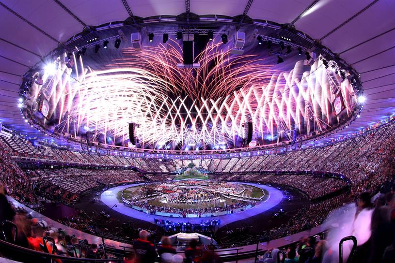 London 2012 Olympic Games: the opening ceremony, directed by Danny Boyle, was considered a creative highlight. Credit: Getty Images; Jonathan Ive: Rex Features
