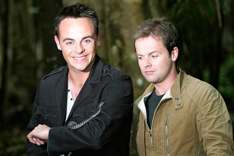 Ant and Dec: present |'m a Celebrity...Get Me Out of Here!