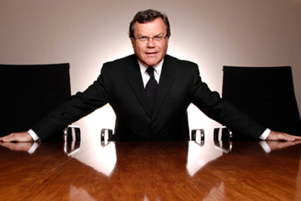Martin Sorrell: WPP group saw growth in April