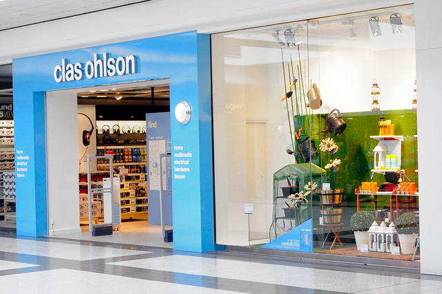 Clas Ohlson: plans to open another 100 stores in the UK
