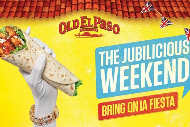 Old El Paso: Work Club created Jubilee-themed outdoor activity