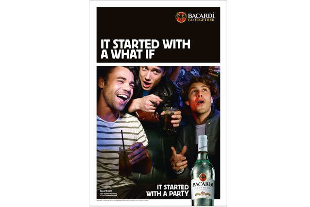 Bacardi... UK ads