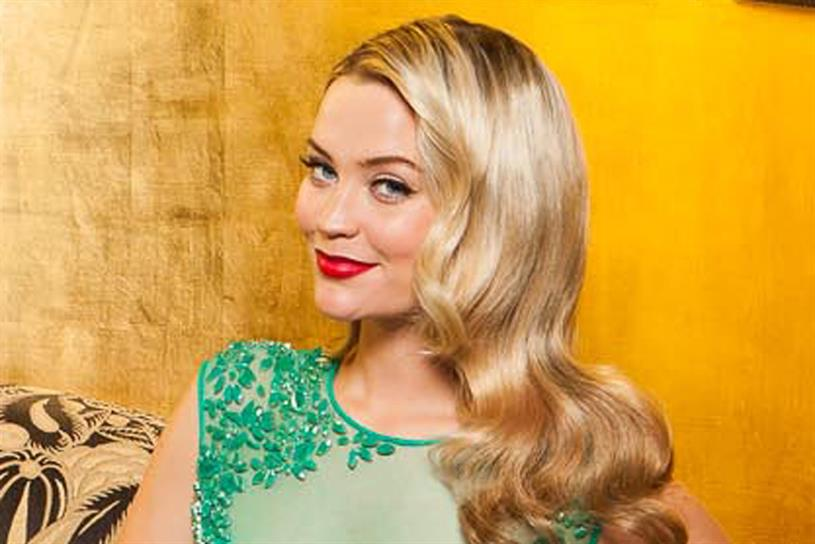 Laura Whitmore: will host the Baftas at the Royal Opera House