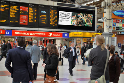Rail station ads: outdoor under scrutiny