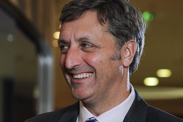 Jerry Buhlmann: chief executive of the Dentsu Aegis Network