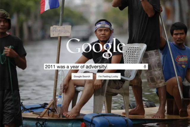 Celebrating 2011: Google Zeitgeist ad shared 127,000 times this week