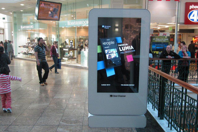 Clear Channel: installing digital screens at Westfield and Meadowhall