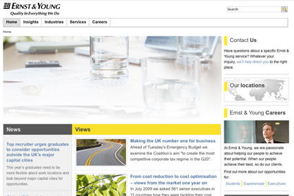 Ernst & Young…global ad brief