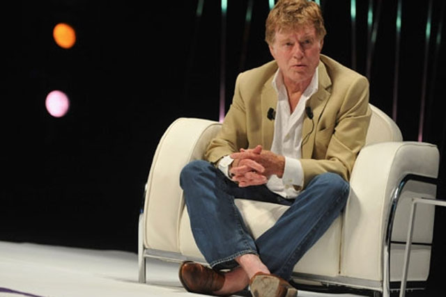Robert Redford: discuses creativity in Cannes