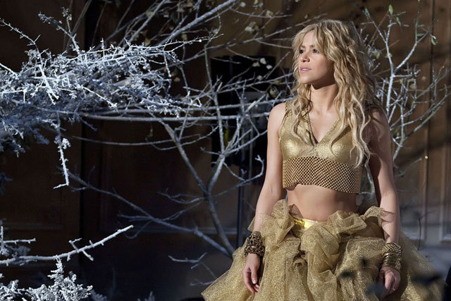 Freixenet: Shakira has appeared in Christmas campaign