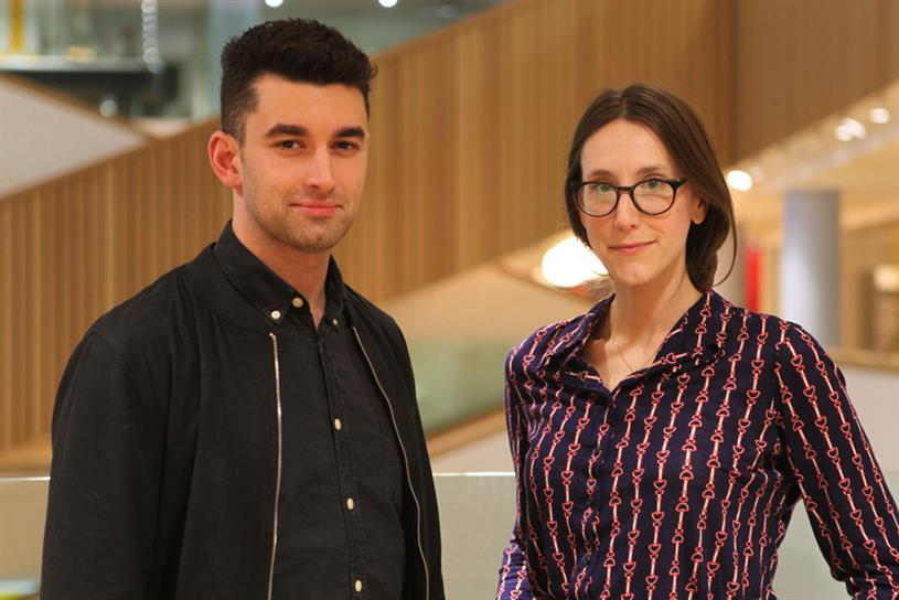 Will Lion and Lilli English: promoted to joint heads of planning at BBH