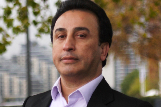 Saad Saraf: chairman of the ethnic diversity group at the IPA