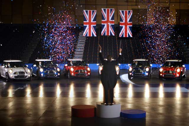 Mini: WCRS's Olympics ad involved Minis playing God Save The Queen