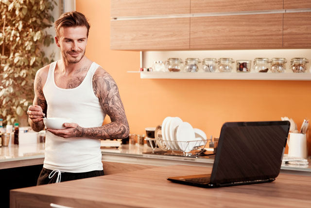 Sky Sports: Beckham ad features twice in most-popular content for last week
