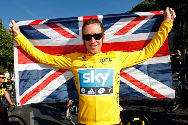 Tour de France winner: Bradley Wiggins