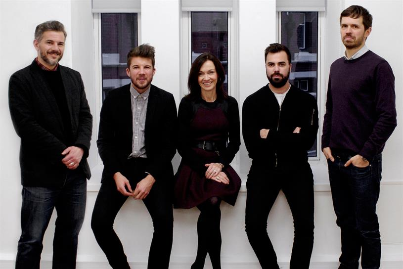 BJL London (l-r): the launch team includes Richards, Ainsworth, Unsworth, Dandeker and Bentley