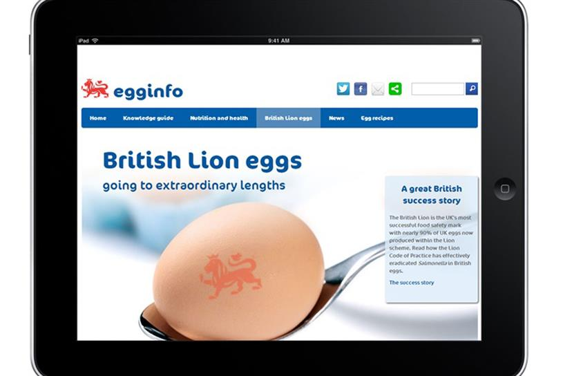 British Lion eggs: Total Media is hired to run marketing body's SEO account