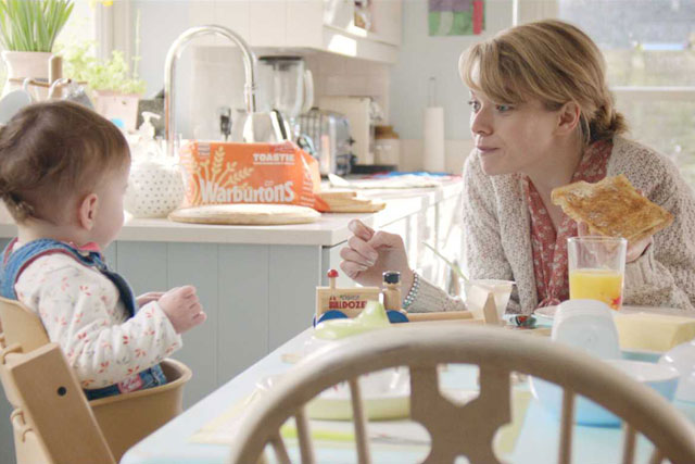 Warburtons: RKCR/Y&R has attempted to promote the company as a family bakery