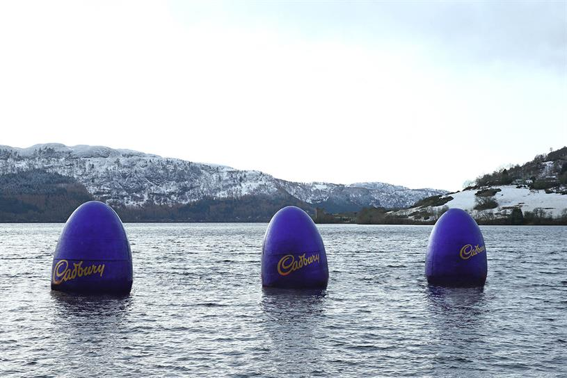 Cadbury eggs have been slowly rising in Loch Ness