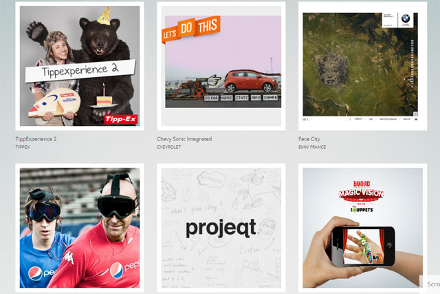 Google: Creative Sandbox platform showcases digital creative work