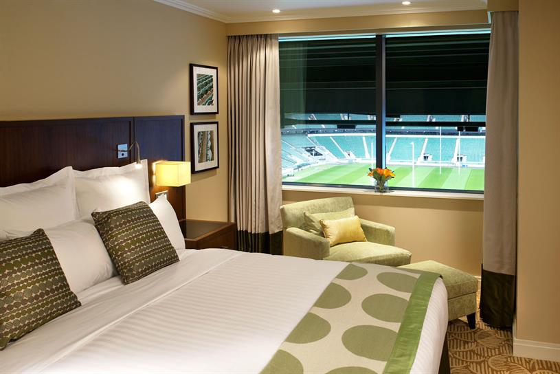 Marriott Hotel Twickenham: hotel group sponsors Marriott London Sevens