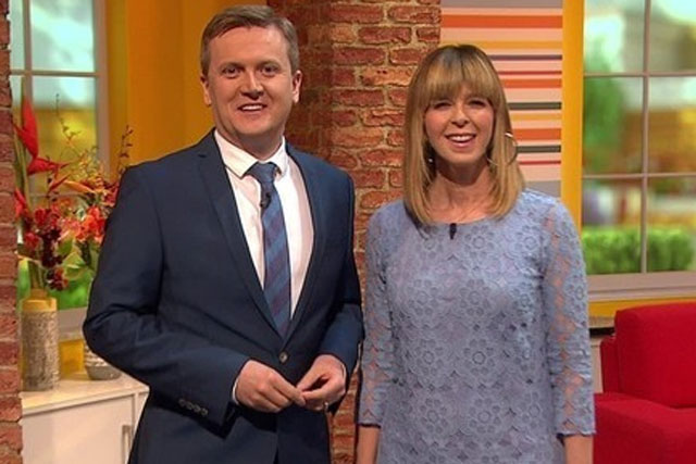 Daybreak: hosts Aled Jones and Kate Garraway