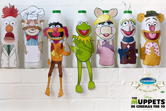 Cravendale: this year's Muppet campaign