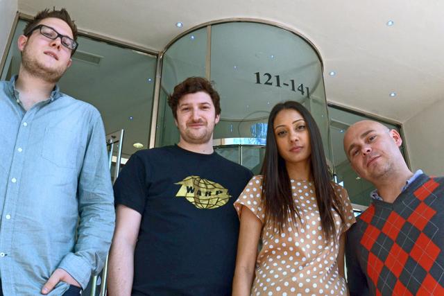 OgilvyAction team members: Max Burgoyne, John Williams, Leena Lum and Piers Eccleston