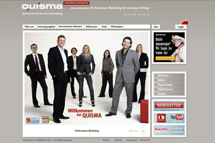 Quisma: launching in UK and US