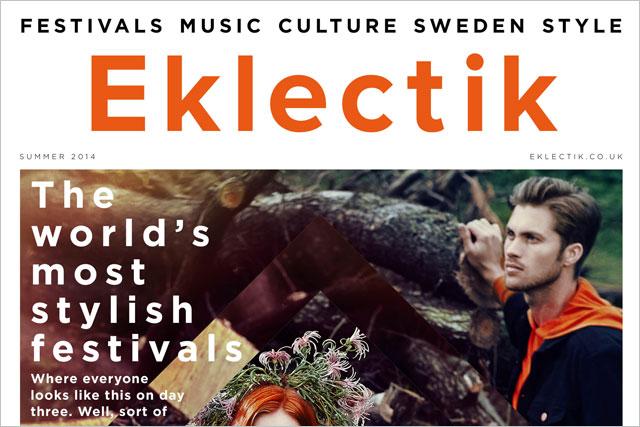 Eklecktik: Kopparberg launches one-off Scandinavian lifestyle magazine