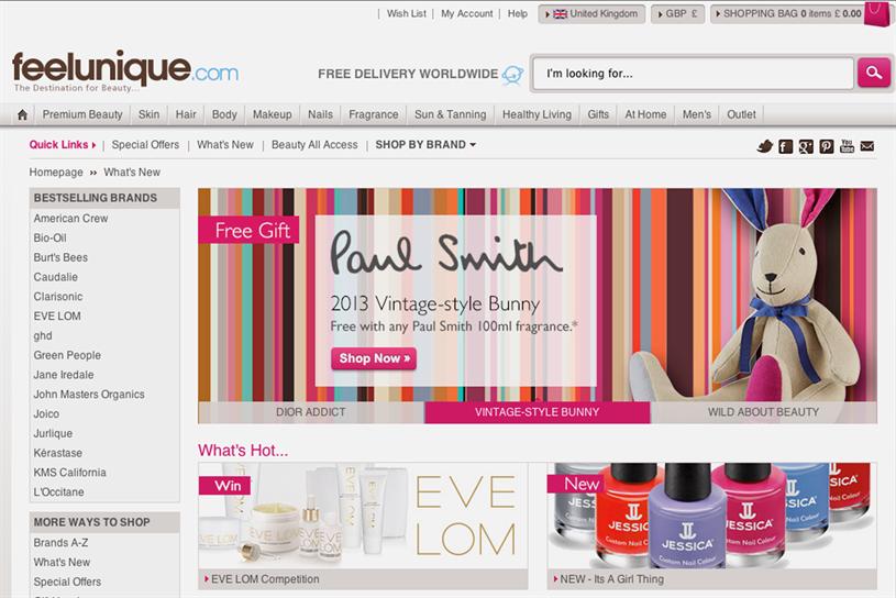 Feelunique.com: seeks agency