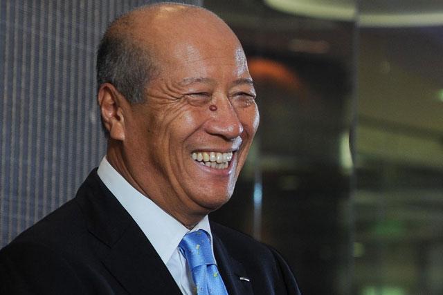 Tadashi Ishii: president & CEO of Dentsu Inc