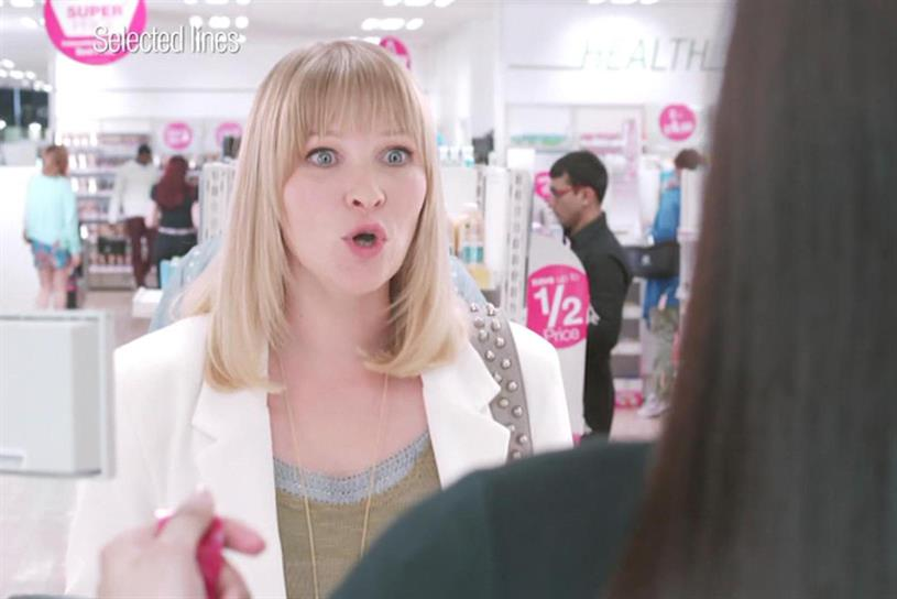 Superdrug: HMDG used Page in its first TV work in ten years