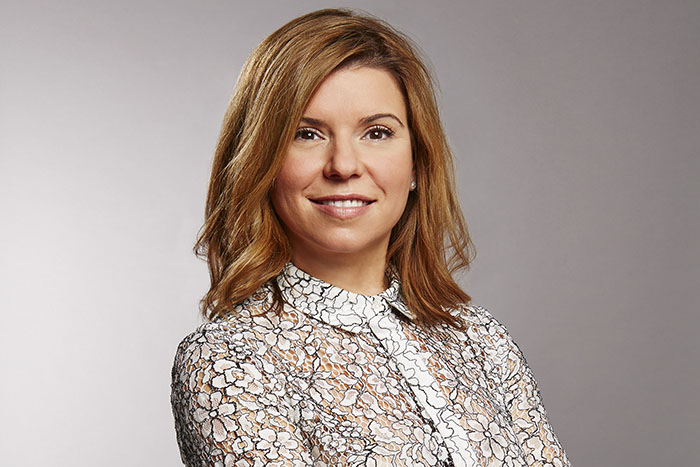 Georgina Parrott: the sales director at Hearst-Rodale