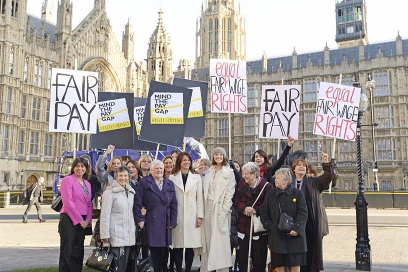 Grazia's equal pay campaign
