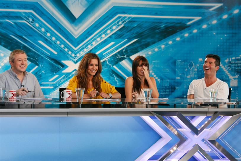 The X Factor: 30-second spots during the final could match 2013's £150,000-£200,000 price tag. Credit: ITV Pictures