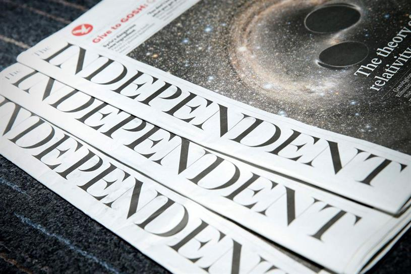 The Independent is transitioning to a digital only product