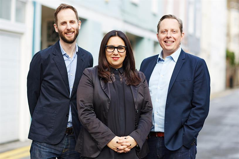 Leo Burnett London (l-r): Bullmore, Sobhani and Lawson form part of senior management line-up