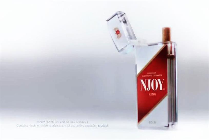 Njoy: e-cigarette brand hires Walker Media for UK campaign