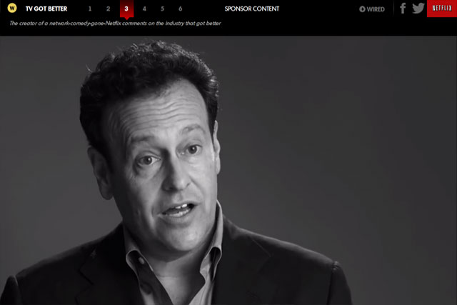 Mitch Horwitz: co-creator of Arrested Development stars in the native ad for Netflix