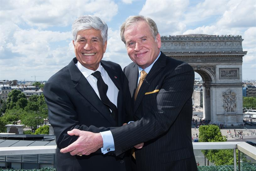 Maurice Levy and John Wren: pulled plug on merger of Publicis Groupe and Omnicom