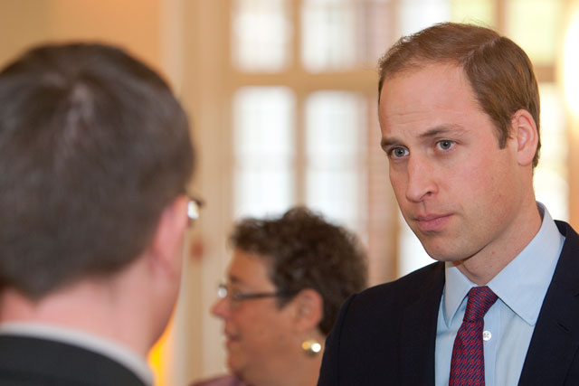 The Duke of Cambridge: set up The Royal Foundation along with the Duchess of Cambridge and Prince Harry