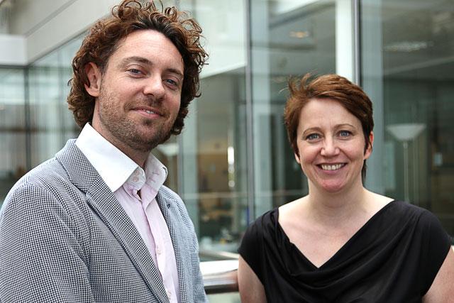 Rapp: joint executive planning directors Rob Reason and Shiona McDougall