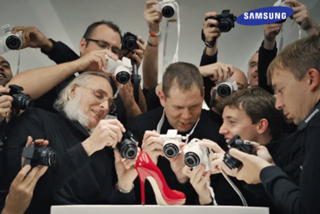 """Samsung: """"we are David Bailey"""" campaign by Cheil UK"""