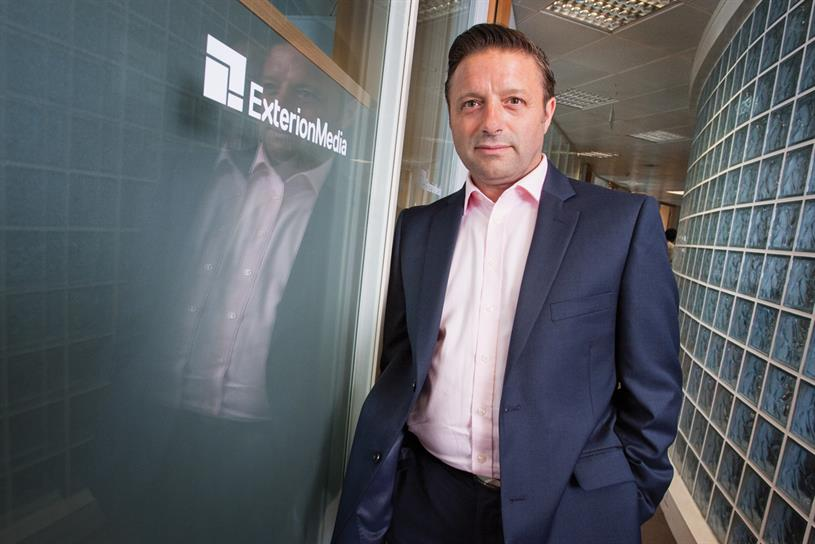 Shaun Gregory, the chief executive of Exterion Media